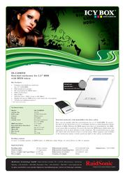 Raidsonic IB-220RFID Leaflet