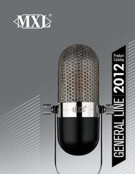 MXL 2001A/600 2001A600 User Manual
