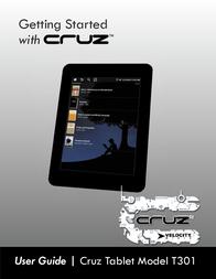Velocity Micro CRUZ T301 User Manual