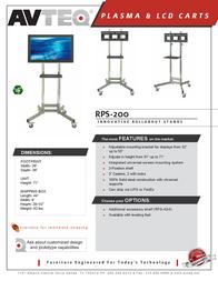 Avteq RPS-200 Leaflet