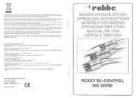 Robbe ROXXY BL-Control 930 1-8629 Data Sheet