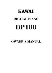 Kawai DP100 User Manual