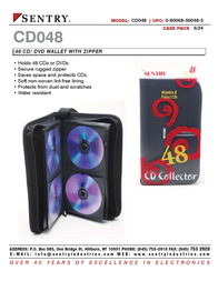 Sentry CD048 Leaflet