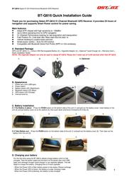 Qstarz bt-q816 Installation Instruction