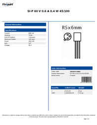 Fixapart 2N2907A-MBR Leaflet