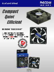 Recom RC-8025B Leaflet