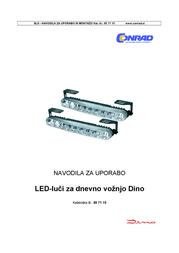 Dino LED Daytime Running Lights 36 LEDs 610791 Data Sheet