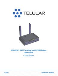 Telular Wi PATHTM SX7T Terminal and SX7M Modem EVDO User Manual