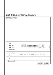 Pacific Digital AVR 635 User Manual
