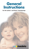 Medela Lactina and Classic Breast Pump User Manual