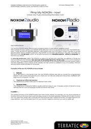 Terratec NOXON iRadio 10443 User Manual