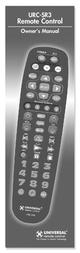 Universal URC-SR3 User Manual
