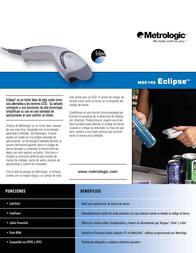 Metrologic MS5145 Eclipse MK5145-31B41 Leaflet
