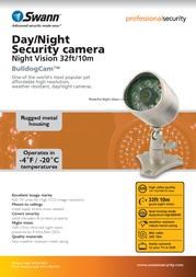 Swann SW224-BDC Leaflet