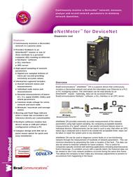 Molex SST-ENM-DN1 Network Meter Specification Guide