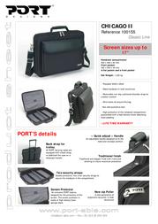 Port Designs Color Line bag CHICAGO II Ebene 100155 Fascicule