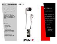 Groov-e GV-EB3-SR GVEB3SR Leaflet