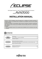 Eclipse avn7000 Installation Instruction