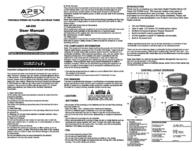 Apex ab 205 User Guide