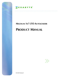 Exabyte MAGNUM 1X7 LTO User Manual
