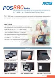Flytech POS886 Leaflet