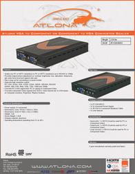Atlona AT-VGA300CV Leaflet
