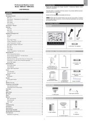 Oregon Scientific WMR200 User Manual