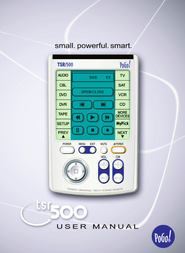 Pogo tsr-500 User Manual