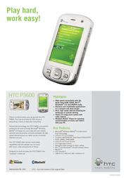 Qtek P3600 NL HTC092955 Leaflet