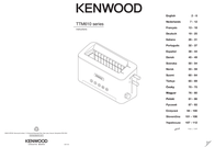 Kenwood Home Appliance Long slot toaster bagel function, with manual temperature settings Kenwood Stainless steel 0WTTM61002 Data Sheet