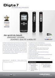Grundig Business Systems N/A Blac PDM7020-12 Data Sheet