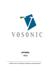 Vosonic VP8860 User Manual