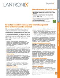 Lantronix EDS00812N-01 8-Port Device Server - 8 x RJ-45 EDS00812N-01 Leaflet