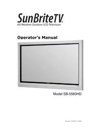 SunBriteTV SB-5560HD User Manual