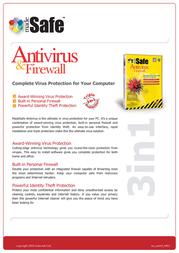 madeSafe Antivirus & Firewall SOF-NOR-3-24MNTH Leaflet