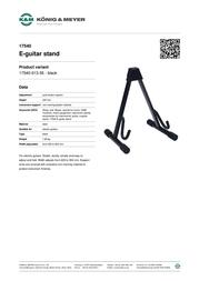 K&M 17540 17540-013-55 Leaflet