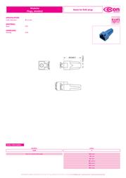 Econ Connect KSM8SW, Pin Black KSM8SW Data Sheet