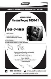Metra 95-7425 User Manual