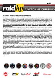 Raid Hp raid hp N/A 660534 Leaflet