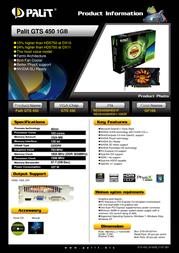 Palit NE5S4500HD01F Leaflet