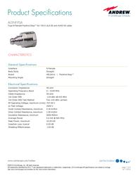 Andrew AL5NF-PSA User Manual