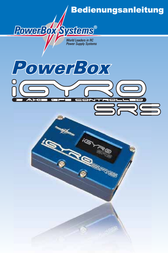 Powerbox Systems Powerbox Igyro, Incl. Sensor blackitch 3510 User Manual