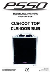 PSSO CLS-100T 11043010 User Manual