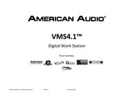 American Audio DJ Controller VMS-4.1 1154000032 Data Sheet