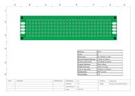 Crc Kontakt Chemie (L x W x H) 80 x 20 x 1.6 mm Grid pitch 2.54 mm PCB2-2080 Data Sheet