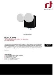 Inverto IDLB-TWNM21-MNOO6-8PP 3524 Leaflet