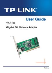 TP-LINK TG-3269 User Guide