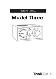 Tivoli Audio Model Three User Manual