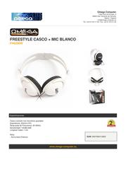 Omega FH0200W Leaflet