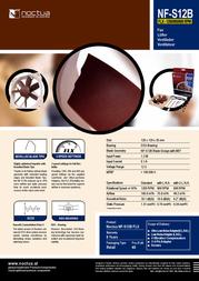 Noctua NF-S12B FLX 005-984 Leaflet